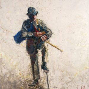 """""""A Travelling Piper at the Crossroads"""" JB Vallely 