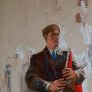 """""""The Travelling Piper"""" Barry Kerr 