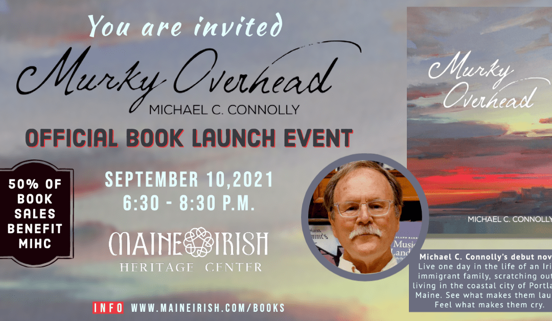 """Official Book Launch – """"Murky Overhead"""" by Michael Connolly"""